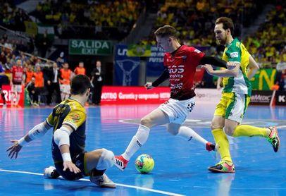 3-2. Chino da la final al Jaén en el penúltimo segundo