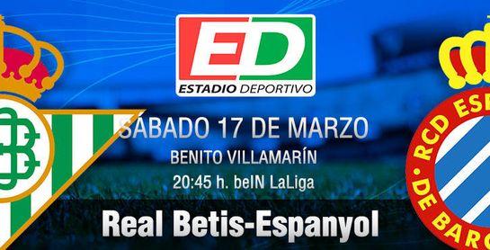 Real Betis-Espanyol: Por una ninfa llamada Europa