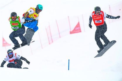 Lucas Eguibar bronce en la última prueba de la Copa del Mundo