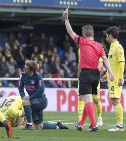 0-1. El Atlético se adelanta gracias a un polémico penalti a Griezmann
