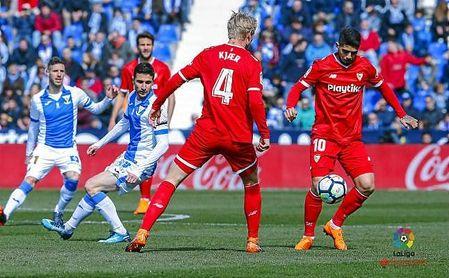 Leganés-Sevilla F.C.: Síguelo en directo
