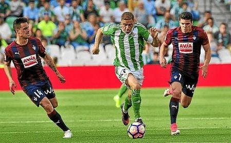 Imagen del Betis-Eibar de la pasada temporada.