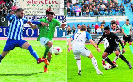 Imágenes de los encuentros del Écija y Betis Deportivo en la jornada 30
