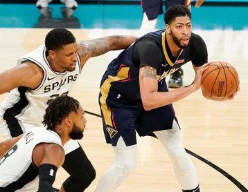 128-125. Davis y Rondo lideran cuarto triunfo consecutivo de los Pelicans