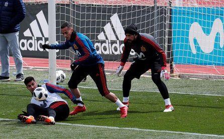 España ya prepara el duelo ante Argentina sin Silva