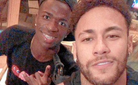 Imagen subida por Neymar a su perfil de Instagram.