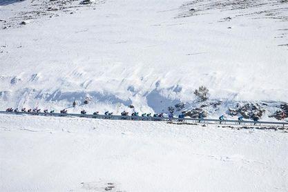 La nieve obliga a acortar la sexta etapa que saldrá desde La Pobla de Segur