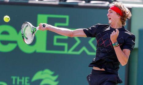 Zverev sufre ante Medvedev para acceder a tercera ronda de Miami