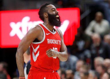 114-91. Harden y Rockets logran la victoria 59, mejor marca de la franquicia