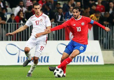 1-0. Khazri muestra las virtudes de Túnez y las carencias de Costa Rica