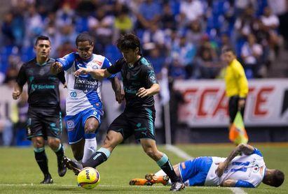 Puebla renovó contrato del defensa colombiano Brayan Angulo por tres años