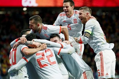 6-1. España aplasta a una Argentina sin Messi
