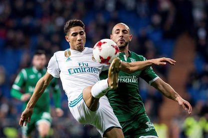 """Achraf: """"Yo siempre me veo jugando en el Real Madrid"""""""