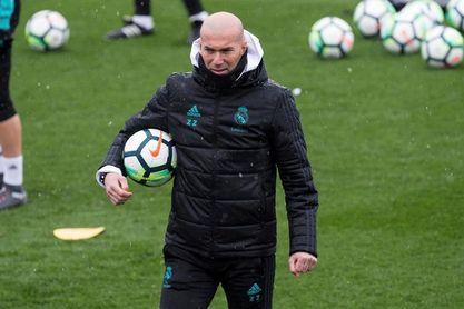 Zidane recupera a todos sus efectivos
