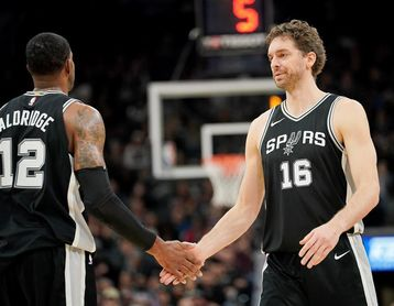 103-99. Aldridge, Gasol y Ginóbili ayudan a Spurs a lograr una victoria clave