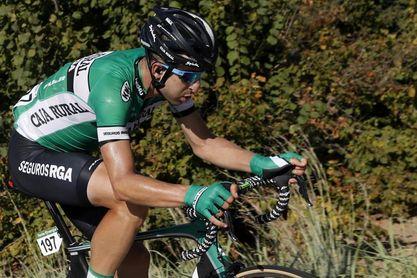 El ciclista Diego Rubio se recupera de un atropello cuando entrenaba en Ávila