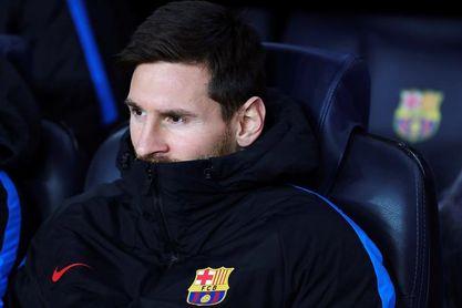Messi se queda en el banquillo y Jesús Navas vuelve tras un mes lesionado