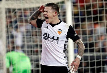 El Valencia viaja a Leganés con la ausencia de Murillo y el alta de Mina