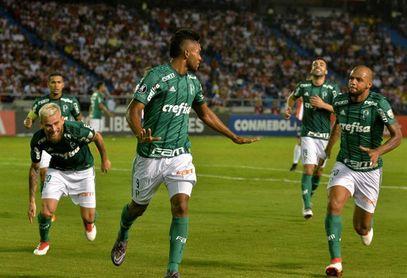 Palmeiras vence en el partido de ida del Campeonato Paulista con un gol de Borja