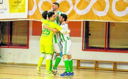 Chano rescata al Betis FS 'in extremis'