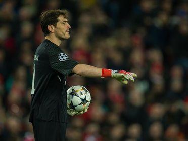 Casillas alcanza los 1.000 partidos como profesion