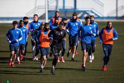El Leganés comienza a preparar el partido ante el Barcelona