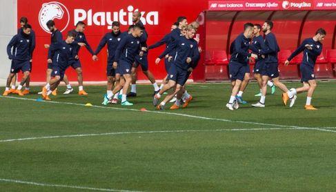 Máxima expectación en el último entrenamiento previo de Montella