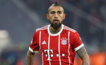 Arturo Vidal, principal novedad en la lista del Bayern