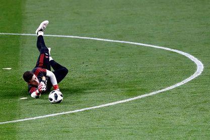 """Kepa: """"Para ir al Mundial tengo que seguir a mi mejor nivel"""""""