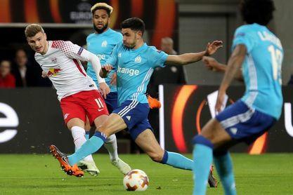 1-0. Timo Werner acerca al Leipzig a semifinales