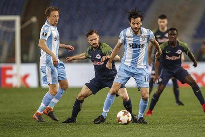 4-2. Felipe Anderson e Immobile impulsan al Lazio