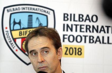 """Lopetegui: """"Isco ha estado siempre sensacional, no solo estos dos partidos"""""""