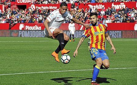Imagen del Sevilla FC-Valencia CF de LaLiga.
