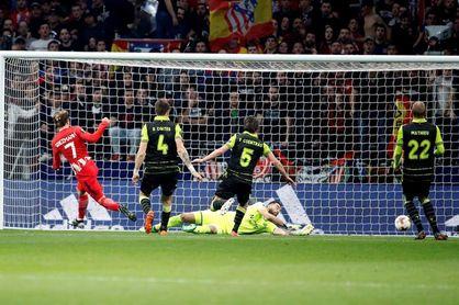 2-0. El Atlético ejerce de favorito