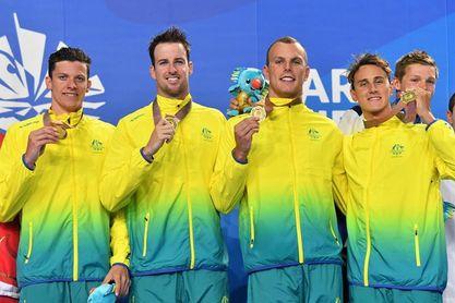 Australia domina con claridad el medallero tras la segunda jornada