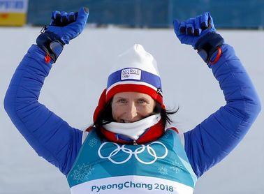 Noruega Bjørgen, la deportista más laureada del olimpismo invernal, se retira
