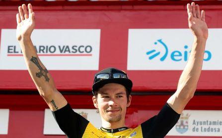 """Roglic: """"La etapa de Arrate será complicada pero espero aguantar el amarillo"""""""