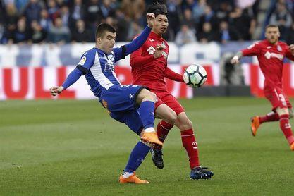 2-0. Laguardia y Munir acercan al Alavés a la salvación