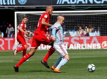 4-0. Iago Aspas lidera la goleada del Celta al Sevilla