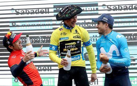 """Ion Izagirre valora """"muy positivamente"""" su podio tras lo cedido el primer día"""