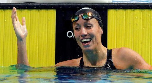 Jessica Vall bate en Málaga el récord de España en 50 metros braza