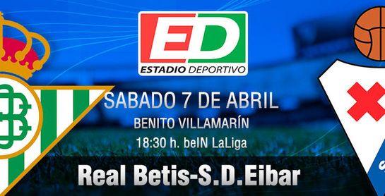 Real Betis-Eibar: Ya, sin amarras