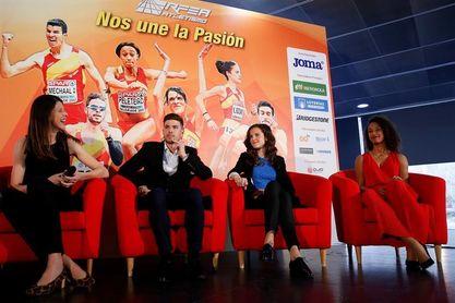 Ruth Beitia y Adel Mechaal mejores atletas españoles de 2017