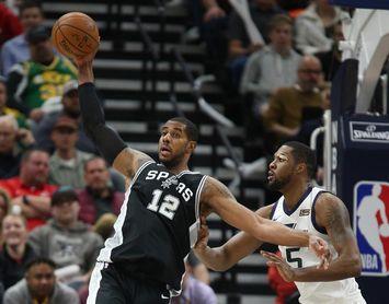 116-105. Aldridge logró 28 tantos y los Spurs ganan