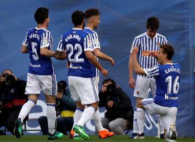 5-0. Alguacil se estrena con goleada en Anoeta