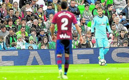 Dani Giménez jugó el pasado sábado su primer partido como titular en LaLiga de la temporada.