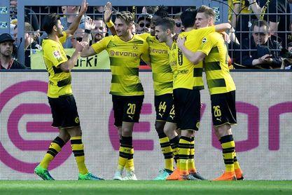 El Dortmund amenaza el segundo puesto del Schalke