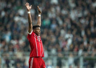 Alaba vuelve a entrenar con el Bayern tras superar problemas de espalda
