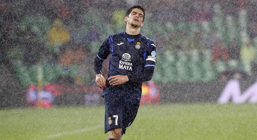 Gerard Moreno alcanza los cien partidos de liga con el Espanyol