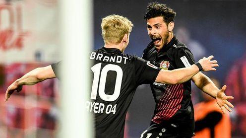 El Leverkusen regresa a puestos de Liga de Campeones tras golear al Leipzig